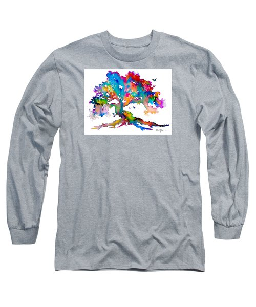 Da186 Kelly's Tree    Daniel Adams Long Sleeve T-Shirt