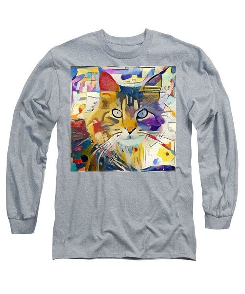 Kandinsky Cat Long Sleeve T-Shirt