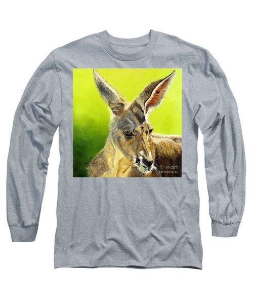 Kangeroo Long Sleeve T-Shirt