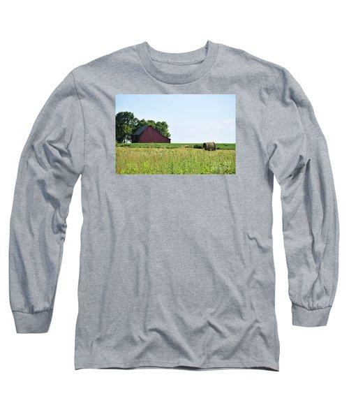 Kansas Barn Long Sleeve T-Shirt