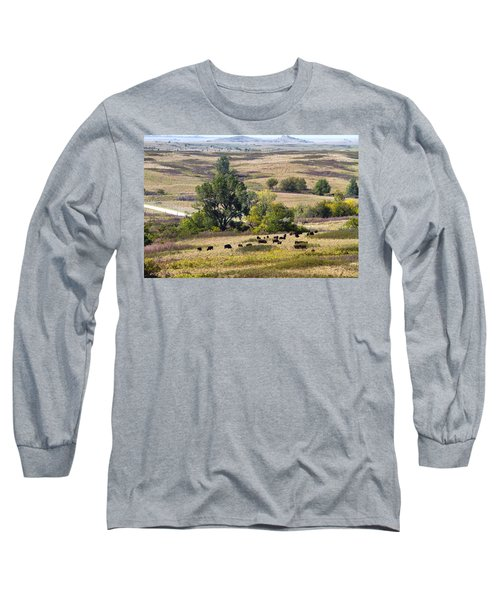 Kansas Plains  Long Sleeve T-Shirt