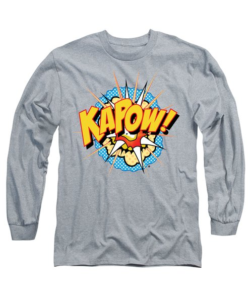 Kapow Long Sleeve T-Shirt