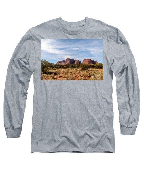 Long Sleeve T-Shirt featuring the photograph Kata Tjuta 06 by Werner Padarin
