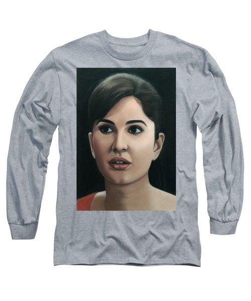 Katrina Kaif Long Sleeve T-Shirt by Vishvesh Tadsare