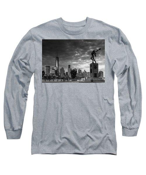 Katyn New World Trade Center In New York Long Sleeve T-Shirt