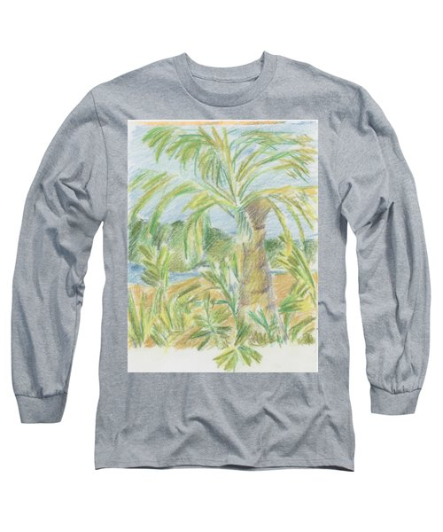 Kauai Palms Long Sleeve T-Shirt
