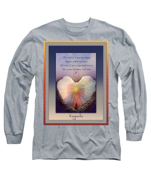 Kaypacha Mantra 3.3.2015 Long Sleeve T-Shirt