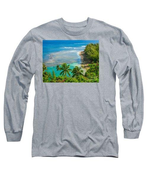 Kee Beach Kauai Long Sleeve T-Shirt