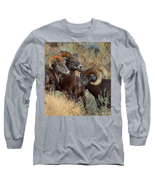 Keep An Eye On Him... Long Sleeve T-Shirt