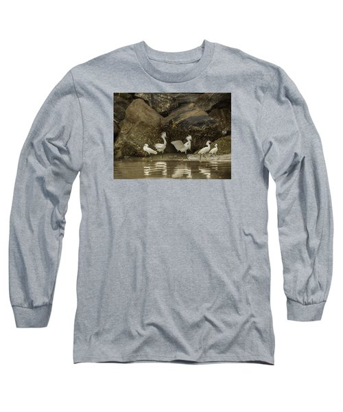 Long Sleeve T-Shirt featuring the photograph Keep On Dancing by Rob Wilson