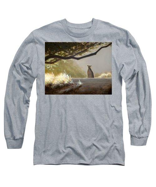 Keeping Watch - Cheetah Long Sleeve T-Shirt
