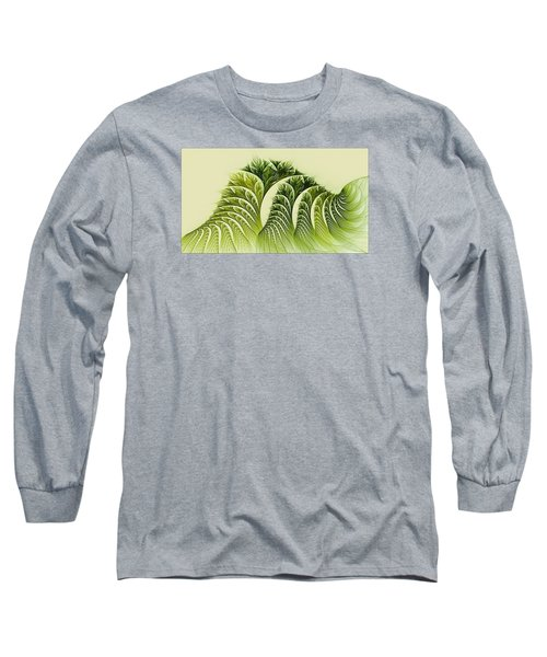 Kelp Towers Of The Fractal Sea Long Sleeve T-Shirt