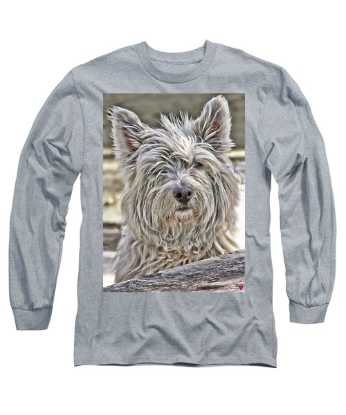 Long Sleeve T-Shirt featuring the photograph Kelsey by Rhonda McDougall