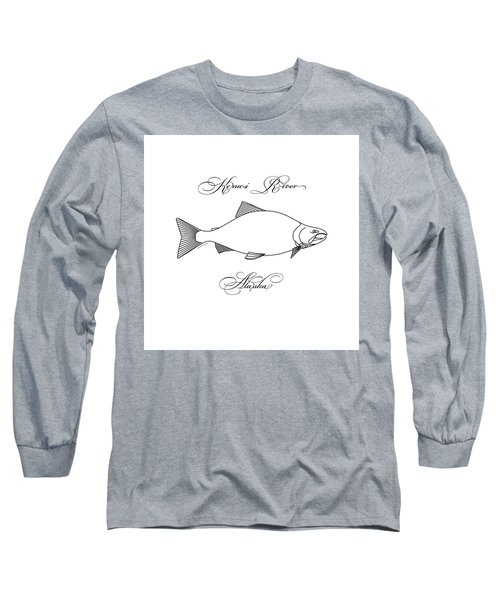 Kenai Sockeye Alaska Long Sleeve T-Shirt