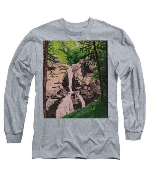 Kent Falls Long Sleeve T-Shirt by Hilda and Jose Garrancho