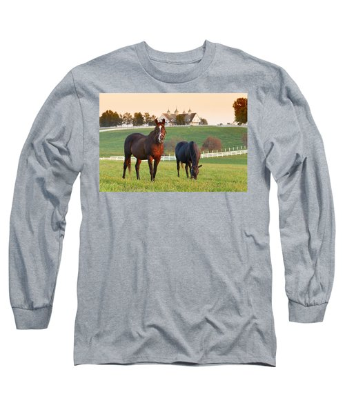 Kentucky Pride Long Sleeve T-Shirt by Alexey Stiop