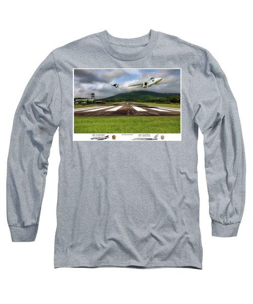 Kep Field Air Show Long Sleeve T-Shirt by Peter Chilelli