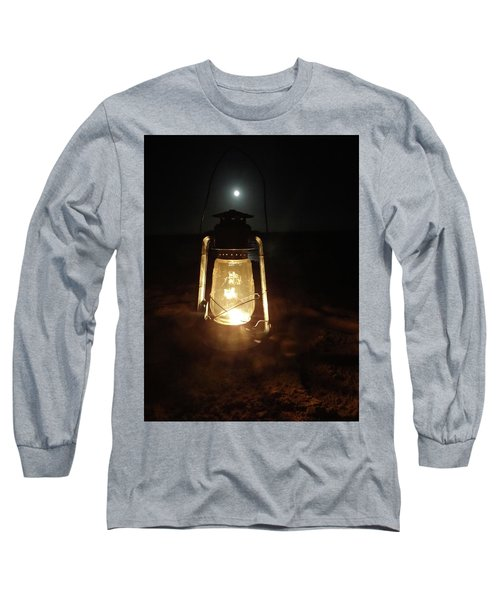 Kerosine Lantern In The Moonlight Long Sleeve T-Shirt