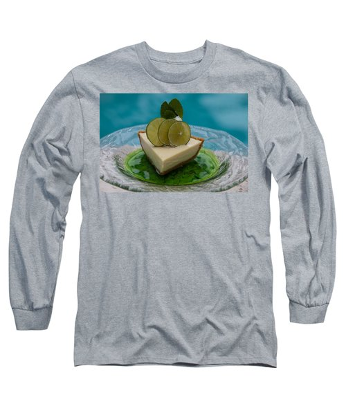 Key Lime Pie 25 Long Sleeve T-Shirt by Michael Fryd