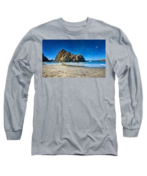 Long Sleeve T-Shirt featuring the photograph Keyhole Rock At Pheiffer Beach #14 - Big Sur, Ca by Jennifer Rondinelli Reilly - Fine Art Photography