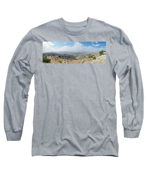 Keys View In Joshua Tree National Park Long Sleeve T-Shirt