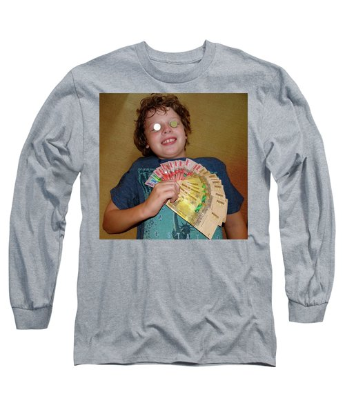 Kid With Money Long Sleeve T-Shirt