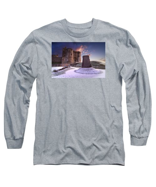 Kidwelly Castle 2 Long Sleeve T-Shirt