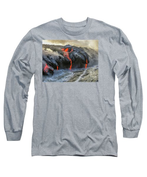 Kilauea Volcano Hawaii Long Sleeve T-Shirt