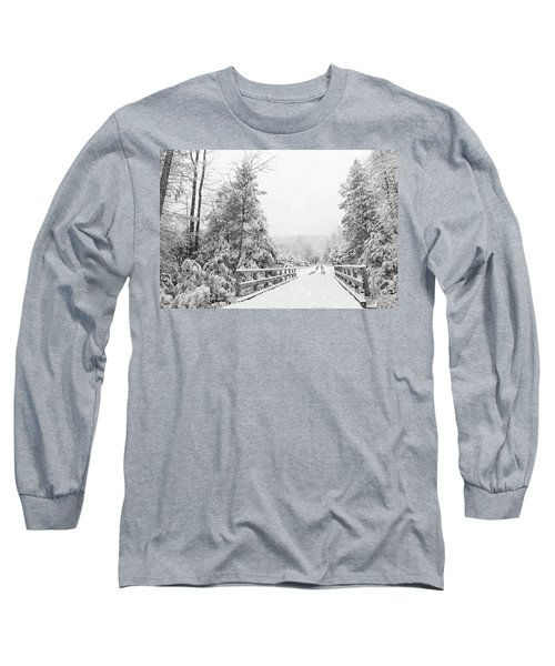 Long Sleeve T-Shirt featuring the photograph Kindness Is Like Snow by Lori Deiter