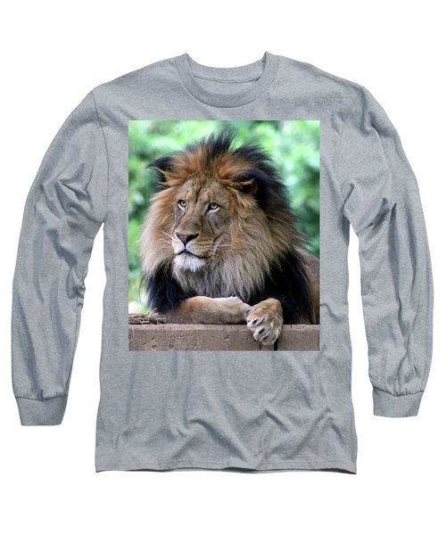 The King's Portrait Long Sleeve T-Shirt