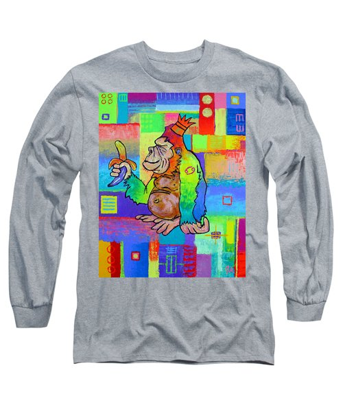 King Konrad The Monkey Long Sleeve T-Shirt