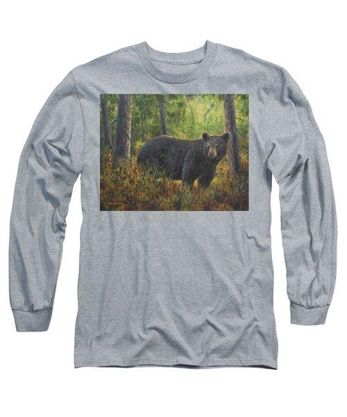 King Of His Domain Long Sleeve T-Shirt by Kim Lockman