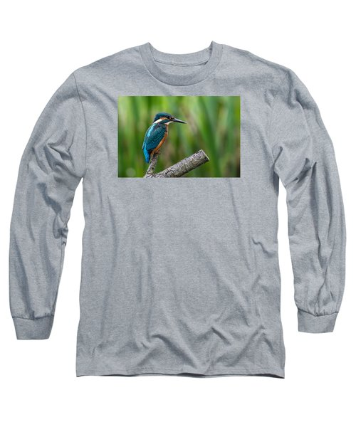 Kingfisher Pose Long Sleeve T-Shirt