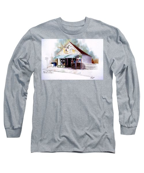 King's Ice Cream Long Sleeve T-Shirt by William Renzulli