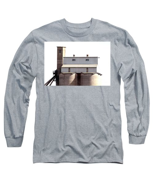 Long Sleeve T-Shirt featuring the photograph Kingscote Skyrise by Stephen Mitchell