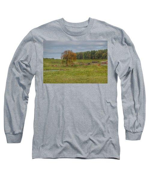 1002 - Kingston Road Cows Long Sleeve T-Shirt