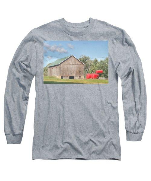 0021 - Kingston Road Grey I Long Sleeve T-Shirt