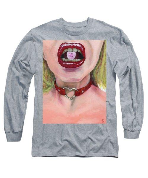 Kiss Me Long Sleeve T-Shirt