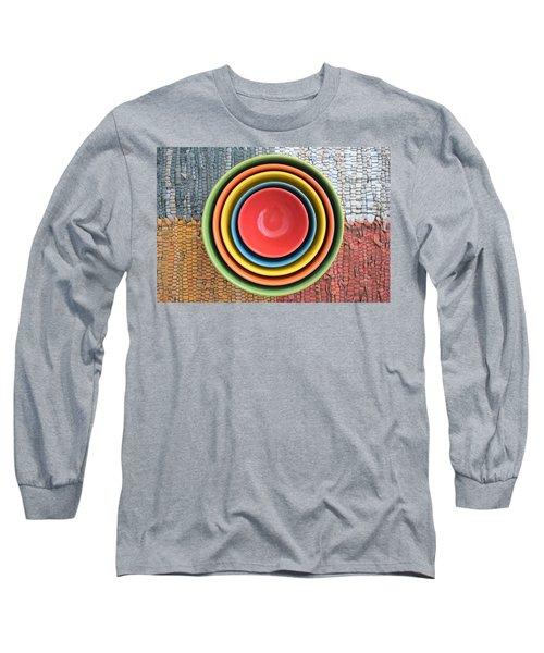 Kitchen Rainbow Long Sleeve T-Shirt