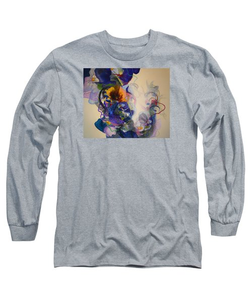 Long Sleeve T-Shirt featuring the painting Kitsch Dna by Georg Douglas