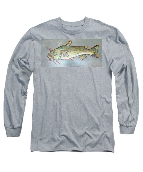 Kitty The Catfish Long Sleeve T-Shirt