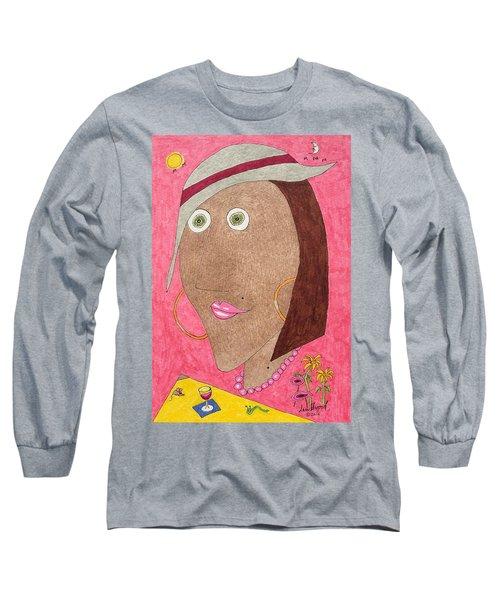 Kiwi Eyes Long Sleeve T-Shirt