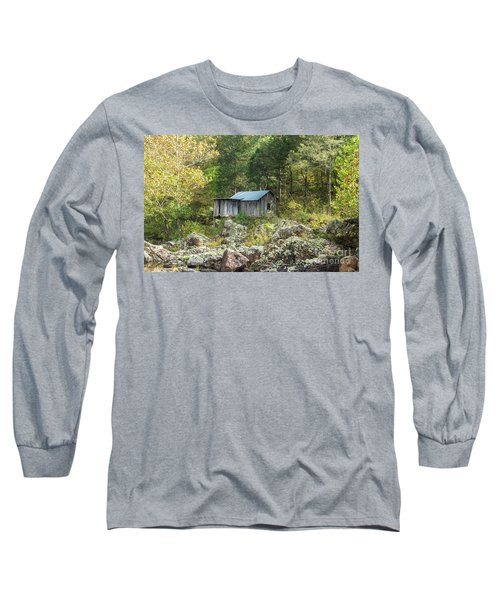 Long Sleeve T-Shirt featuring the photograph Klepzig Mill by Julie Clements