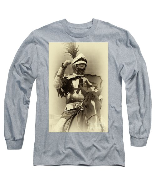 Long Sleeve T-Shirt featuring the photograph Knights Of Old 16 by Bob Christopher