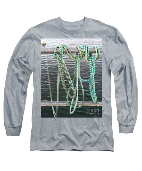 Long Sleeve T-Shirt featuring the photograph Knot Of My Warf II by Stephen Mitchell
