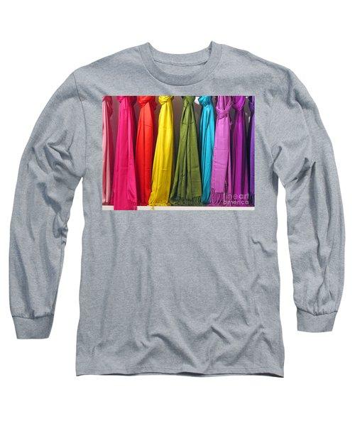 Knots And Fringe Long Sleeve T-Shirt