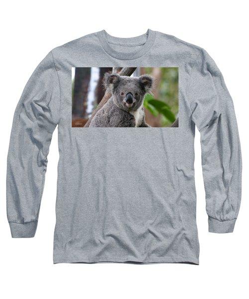 Koala Bear 7 Long Sleeve T-Shirt by Gary Crockett