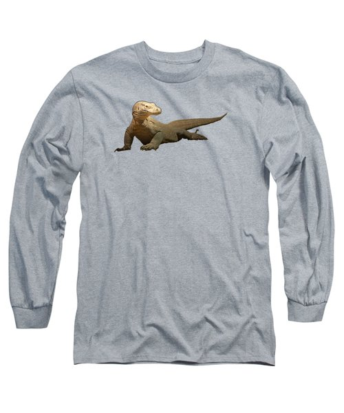 Komodo Dragon Tee Shirt Long Sleeve T-Shirt