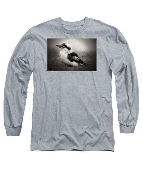 Long Sleeve T-Shirt featuring the photograph Kookaburra Beauty 01 by Kevin Chippindall