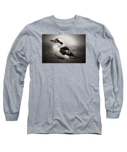 Kookaburra Beauty 01 Long Sleeve T-Shirt by Kevin Chippindall